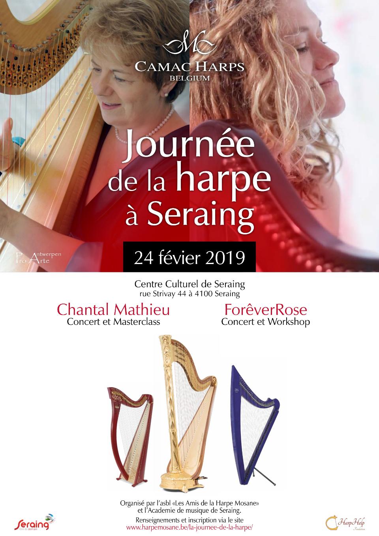 Affiche Journée de la harpe 2019